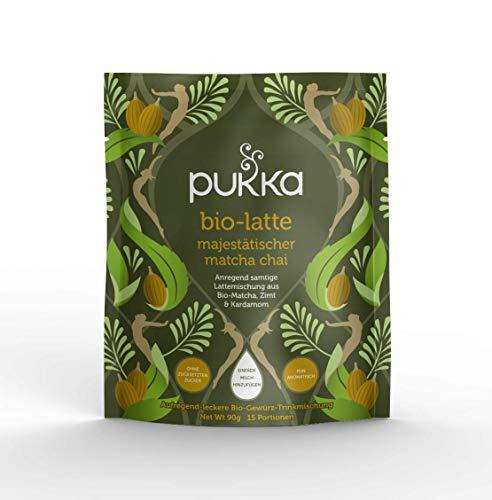 Pukka BIO Latte Majestätischer Matcha Chai, 90 g