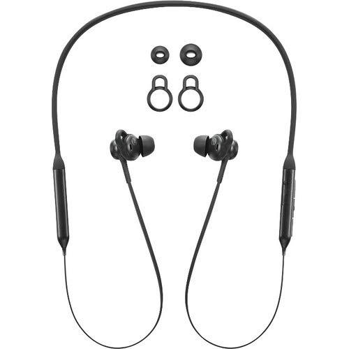 Lenovo - Earphones with mic - in-ear - neckband - Bluetooth - wireless - black - for IdeaCentre 3 22, IdeaPad Slim 7 15IIL05, ThinkPad L15 Gen 2, X1 Nano Gen 1