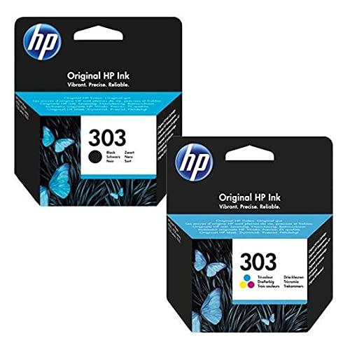 Multipack 2 Cartouches d'encre Noir et Couleur pour imprimante HP Envy Photo 6234 - Plein d'encre