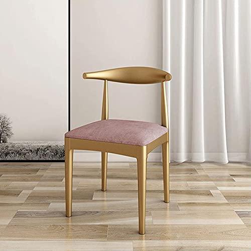 PZJ-Sillas de Comedor de Cocina de Metal, sillas de recepción de Comedor desgastadas de óxido Vintage para Bistro Restaurante Bar Café Jardín Muebles de Exterior,D