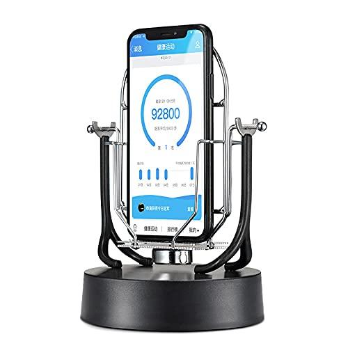 Telefone Swing compatível com Pokemon GO Plus Celular, pedômetro, passos, contador, acessórios, preto