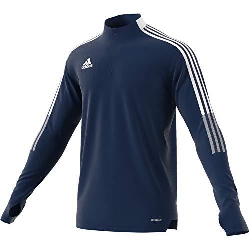 adidas TIRO21 TR Top Pullover, team navy blue, S Mens
