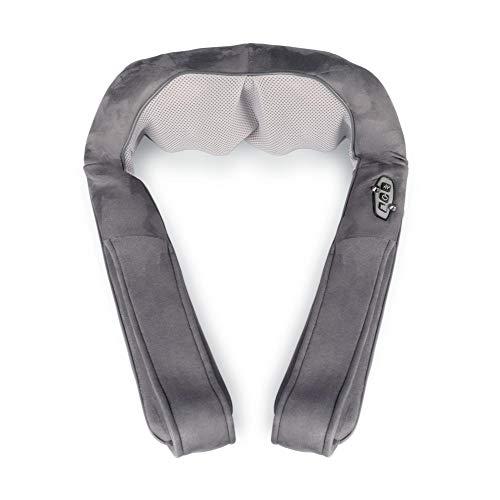 Medisana NM 880 Shiatsu-Nackenmassagegerät mit Wärmefunktion, kabellos mit Akku für Unterwegs, für Rücken, Bauch, Ober- und Unterschenkel, rotierende Massageköpfe