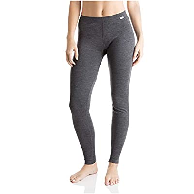 MERIWOOL Womens Merino Wool Base Layer Thermal Pants (Charcoal Gray, Medium)