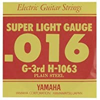 YAMAHA/ヤマハ H-1063×6 エレキ弦/スーパーライト/3弦×6(H1063)