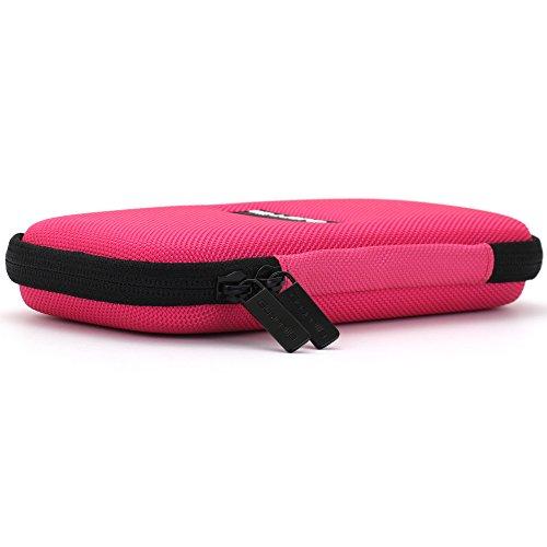 Guerrilla Hard Travel Case for TI-30X llS, TI BA ll Plus, TI-34 Multi View, TI-36X Pro, TI BA ll Plus Professional, and TI-30XS multi view Calculators, Pink Photo #3