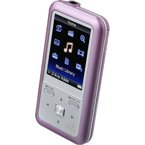 Sony NWZS616FPNK 4GB Walkman Video MP3 Player (Pink)