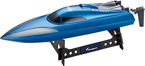Amewi 26073 Mono RC Motorboot 100% RTR 460 mm, blau