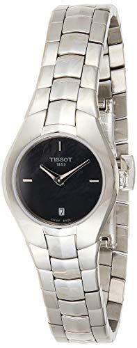 Tissot Reloj Analógico para Mujer de Cuarzo con Correa en Acero Inoxidable T096.009.11.121.00