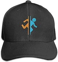 Teifion Harlen Portal 2 Unisex Travel Sunscreen Caps Sun Hat Black