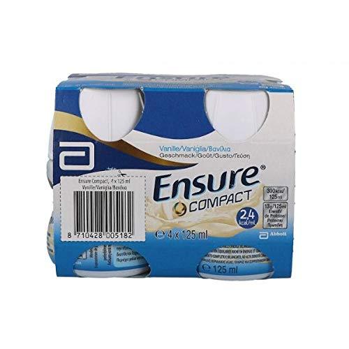 Ensure Compact - integratore alimentare liquido gusto Vaniglia 4x125 ml