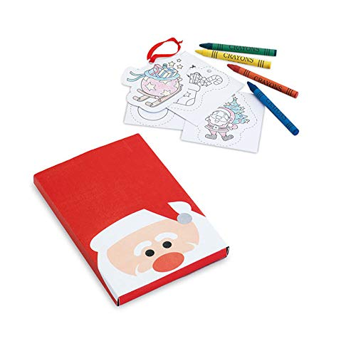 Lote de 25 Set para Colorear con Motivos Navidad,en cartón. Regalos Infantiles Navidad, navideños
