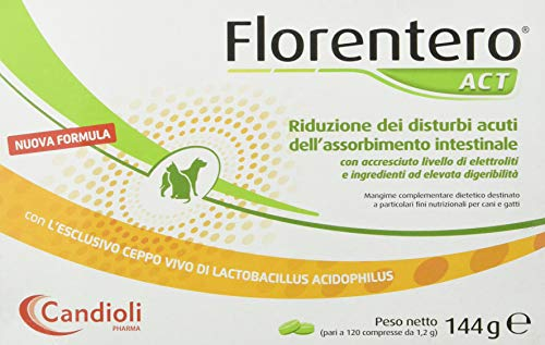 Candioli PA2353 Florentero Mangime Complementare per la Riduzione dei Disturbi Acuti...