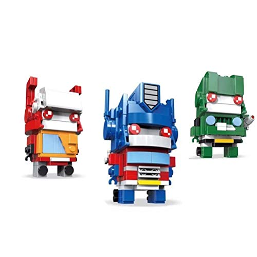JIWEIMO Transforming Building Kit Creative Toy for Kids and Any Transform Robot Fans ,Team A 359 pcs