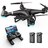 Holy Stone HS110G GPS FPV Drone with 1080P HD Live Video Camera for Adults and Kids, RC Quadcopter with GPS Auto Return Home, Auto Hover and Follow Me Mode, Long Flight Time, Easy to Fly for Beginners