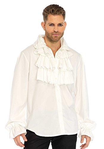 Leg Avenue Men's Costume, White, Medium