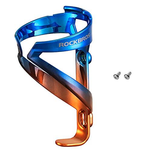 ROCKBROS Flaschenhalter Fahrrad Getränkehalter für Rennrad, Mountainbikes aus Hochfestem PC Univeral 33g Leichtgewicht 3 Farben