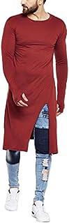 FUGAZEE Men's Cotton Front Slit Thumbhole Kurta