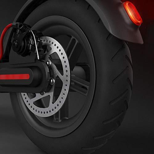 KUIDAMOS Capacidad de amortiguación Scooter eléctrico Monopatín Neumático de Rueda Trasera Neumático Trasero de Scooter eléctrico, para Scooter eléctrico