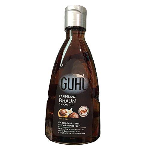 Guhl Farbglanz Braun Kukui-Nuss shampoo 200ml