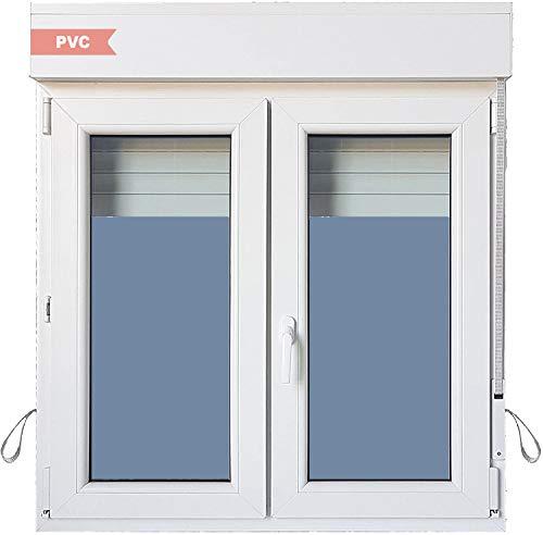 Ventanastock Ventana PVC Practicable Oscilobatiente 2 hojas con Persiana (PVC) 1200 ancho x 1355 alto