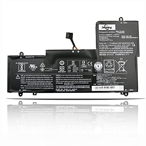 ANTIEE L15M4PC2 7.64V 53Wh 6960mAh Laptop Batería para Lenovo Ideapad Yoga 710-14IKB 710-14ISK 710-15IKB 710-15ISK Series Notebook 5B10K90778 L15L4PC2 5B10K90802