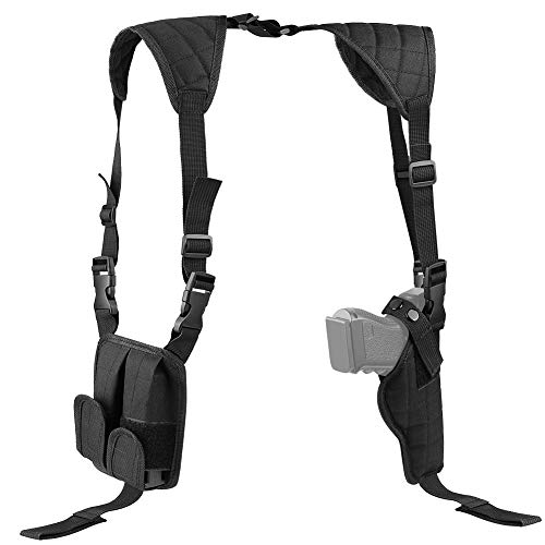 XAegis Shoulder Holster General Vertical Gun Holster Adjustable for Most Kinds of Pistols
