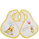 Enchanting Disney Collection Winnie The Pooh Bib Set of 2, Multi-Coloured, One Size