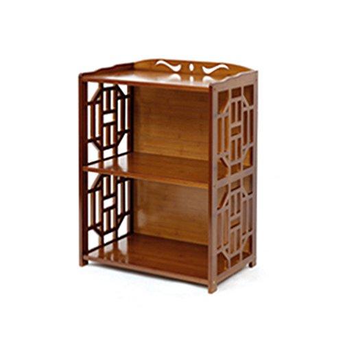 Bibliothèque Sexy Simple 2/3/4/5-niveau rétro Bambou Salon Locker Bookshelf Brun (Taille : 70 * 29 * 70cm)