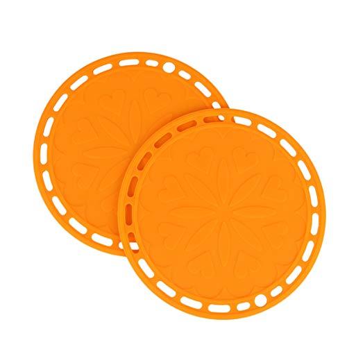 pequeño y compacto UPKOCH 2 piezas Servilleta de silicona Mantel impermeable antideslizante…