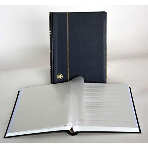 GOLDHAHN-Luxus-60 weiße Seiten A4 Briefmarkenalbum Einsteckbuch Briefmarken für Sammler