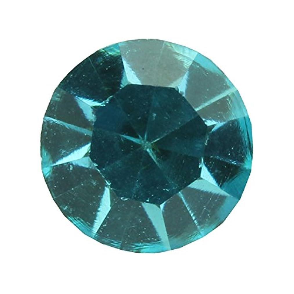 ミケランジェロ接辞金額アクリルストーンVカット ss12(約3.0mm)(30個入り) アクアマリン