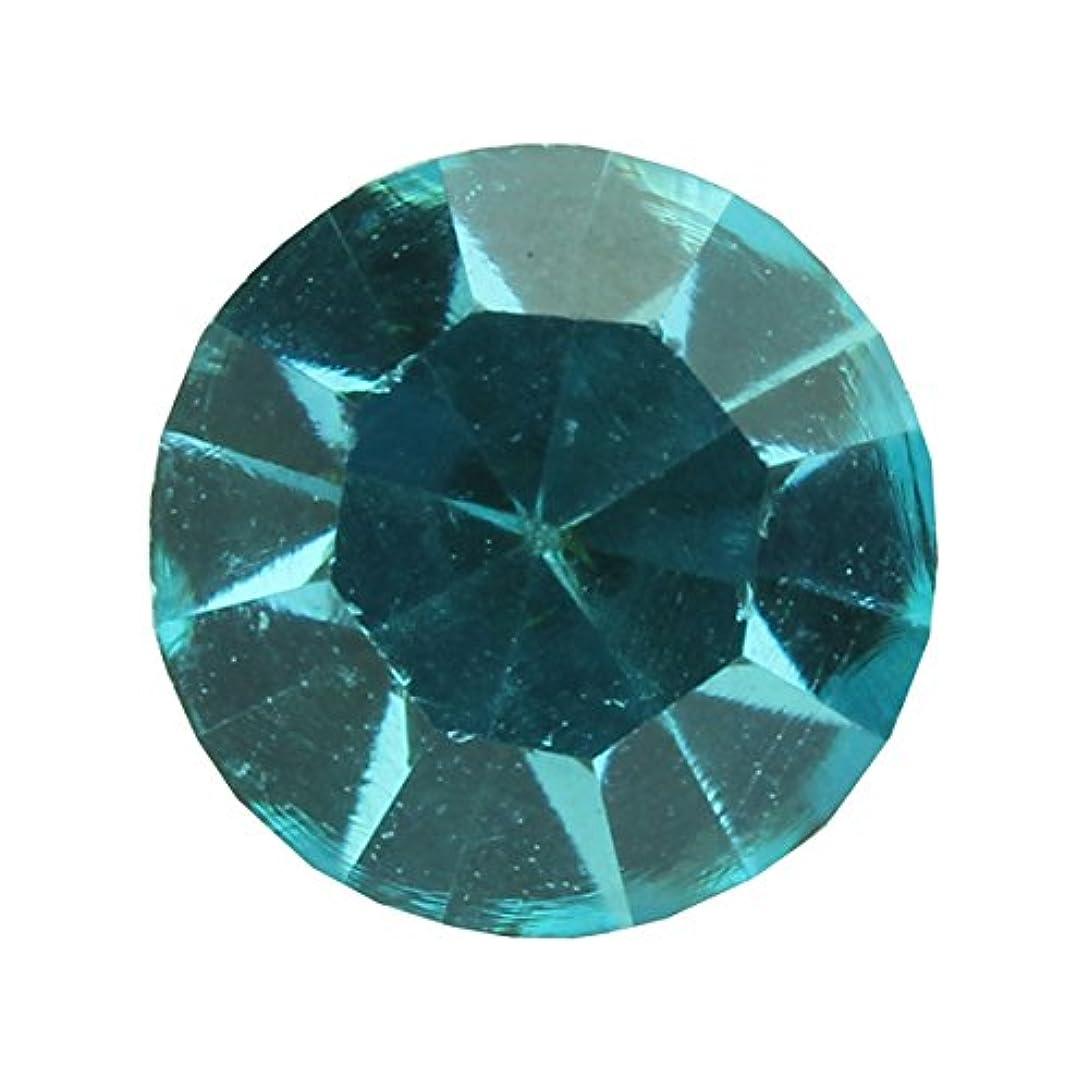 分解する解釈するラグアクリルストーンVカット ss12(約3.0mm)(30個入り) アクアマリン