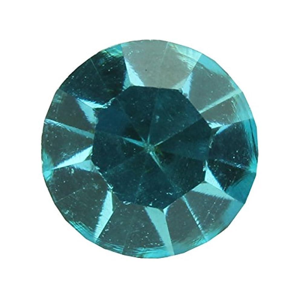 カバレッジ効果的に正確さアクリルストーンVカット ss12(約3.0mm)(30個入り) アクアマリン