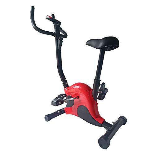 Yu Liao Home Fitness Bicicleta estática, Resistencia Ajustable Bicicleta estática genérica Fitness Master, conducción silenciosa