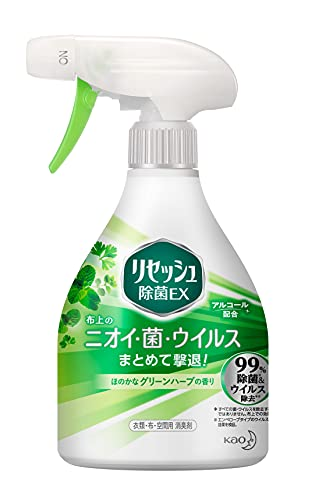 リセッシュ 除菌EX 消臭芳香剤 液体 グリーンハーブの香り 本体 370ml
