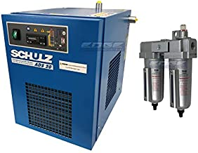 Schulz REFRIGERATED AIR Dryer for AIR Compressor, Compressed AIR Systems, 20 CFM, Good for 5HP COMPRESSORS MAX (with PRE-Filters)