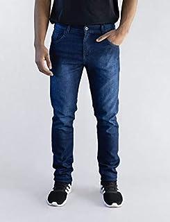 Calça Jeans Masculina Versatti Slim Tradicional Milão Azul