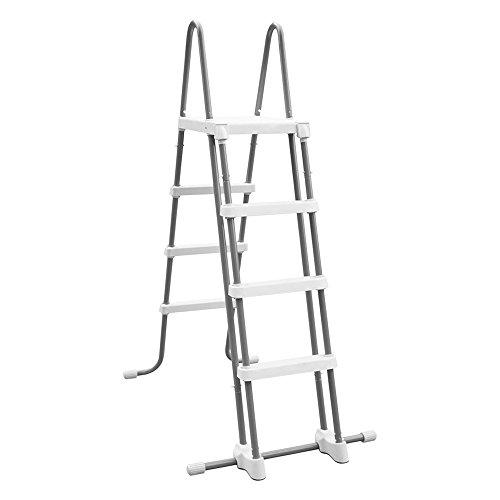 Intex Echelle double sécurité Blanc 80 x 40 x 122 cm 28073