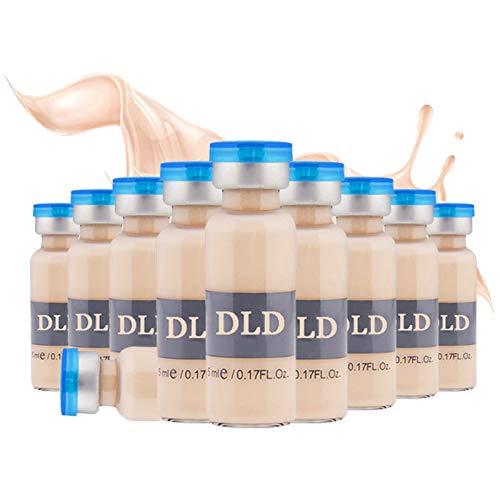 10 paket 5 ml BB Creme Weiß Whitening Serum Natürliche Naked Make Up Foundation Verwenden für (MTS) (# 3-10 Flaschen)