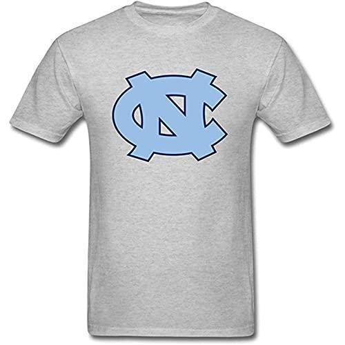 NCAA Tournament Crazy March University North Carolina - Camiseta de baloncesto con logo UNC para hombre, manga corta