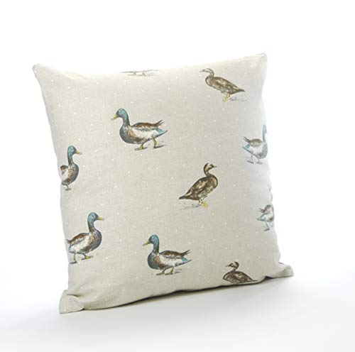 Cotton Animal Duck 16in x 16in Cushion Cover (Reversible)