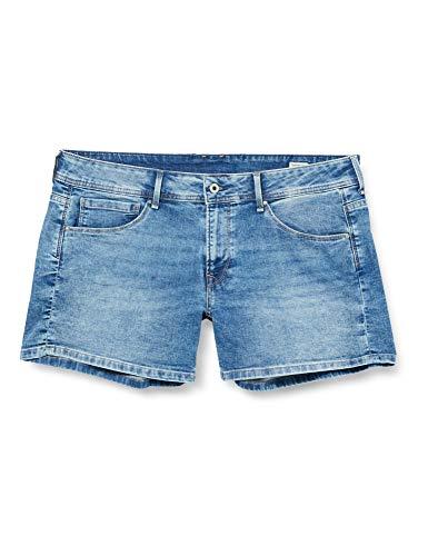 Pepe Jeans Damen Jeansshorts Siouxie, 000denim, 29