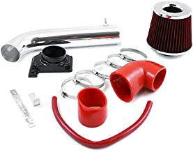 RL Concepts Red Short Ram Air Intake Kit + Filter 00-05 Mitsubishi Eclipse 2.4L 4-cylinders / 3.0L V6 Engine 99-03 Galant 2.4L/3.0L