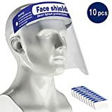 HUAAKE Safety Face Shield,Adjustable Anti-Fog Dental Full Face Shield with Protection from spray and...