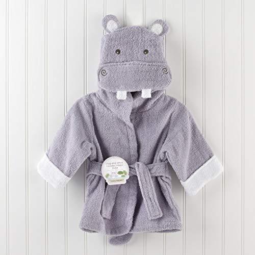 Avmy 30 Designs Hooded Animal Modeling Baby Bademantel/Charakter Kinder Bademantel/Baby Strandtücher, lila Nilpferd