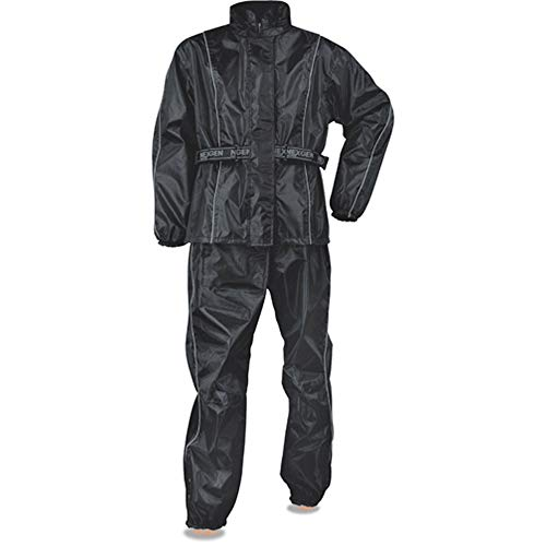 NexGen Men's Rain Suit (Black, X-Large)