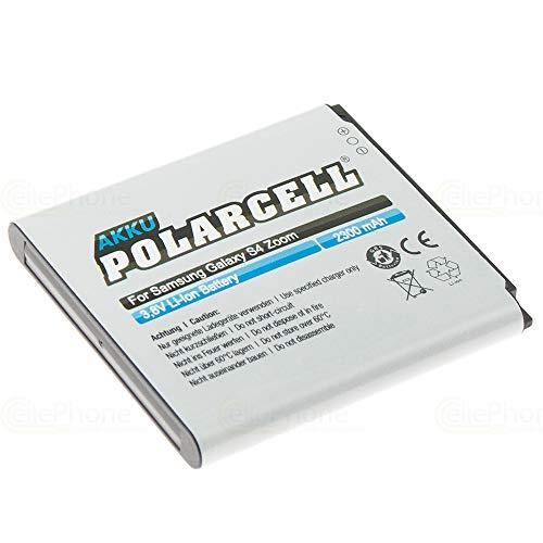 cellePhone PolarCell Akku Li-Ion kompatibel mit Samsung Galaxy S4 Zoom LTE (SM-C1010 / SM-C105) (Ersatz für B740AE)