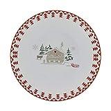 TABLE&COOK Lot de 6 Assiettes Plates Les Confins