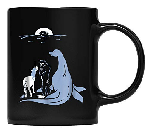 N\A Taza Noah olvidó Bigfoot, Unicorn y el Monstruo del Lago Ness